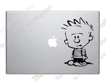 Calvin from Calvin and Hobbes Computer Sticker Decal for Computer Wall Car and More