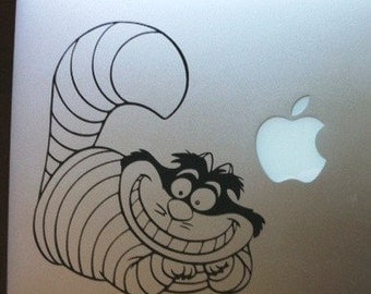 The Chesire Cat - Vinyl Decal Sticker for Wall Car Laptops Macbooks