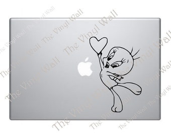 Tweetie Bird Computer Sticker Decal for Computer Wall Car and More