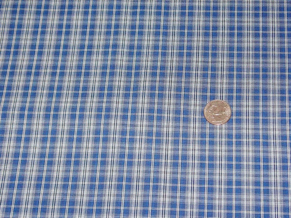 Pretty Plaid Cotton Fabric 66 Inch Width 2.5 Yards
