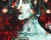Mixed Media Painting - Medusa