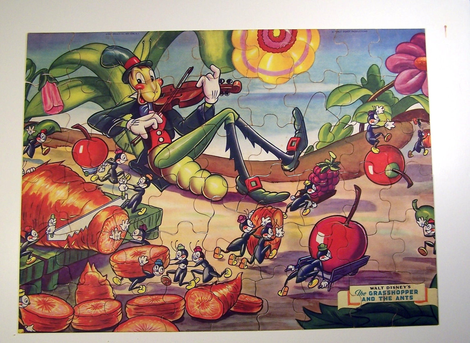 Walt Disney's The Grasshopper And The Ants Jigsaw by TomsBarn