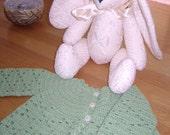 K4BN - Ecofriendly Bamboo Crochet Baby Jacket