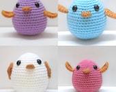 Amigurumi Bird Toy Pattern Instant Download