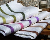 SALE Linen Hand Towel set -Nature's Delight-