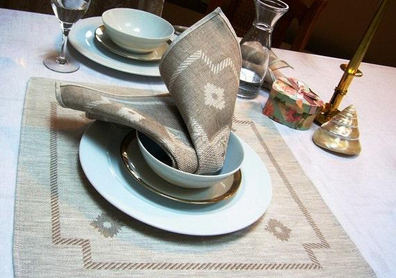 Linen Napkins set -Fable-