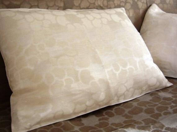 Pillowcases Linen Damask -Clouds-