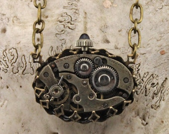 Handmade Steampunk Necklace