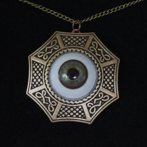 All Seeing Eye Steampunk Pendant