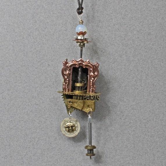 Steampunk Time Machine Necklace