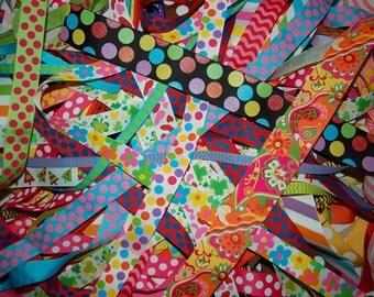 50 yard CLEARANCE SALE mixed assortment BELOW wholesale grosgrain ribbon