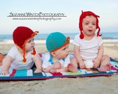 3 PDF Patterns for the Cape Cod Collection Hats- Crab, Lobster and Snail Designs