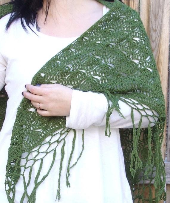 Miss Bennet's Walking Shawl Crochet Pattern (PDF file)