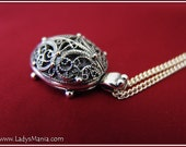 Turtle filigree pendant -Necklace- Buy today and shipped TOMORROW