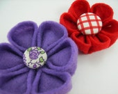 Felt Kanzashi Flower Pdf Tutorial No Sewing BOGO OFFER
