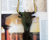 Bronze Greek Bull Minotaur