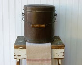 Antique Vintage Farm Bucket