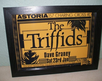 The Triffids Framed Gig Poster Print