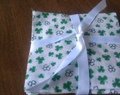 Shamrock Fabric Bundle -- Forty 4 inch squares