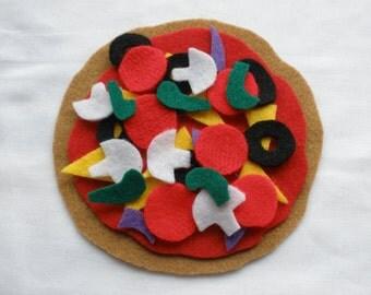 Felt Pizza Play Set