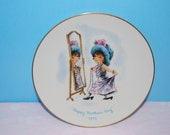 Moppets Mother's Day Plate 1975