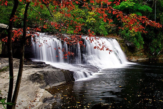 Limited Time 18Hx27W Photograph: Print of Hooker Falls, Printed on HP Professional Satin paper