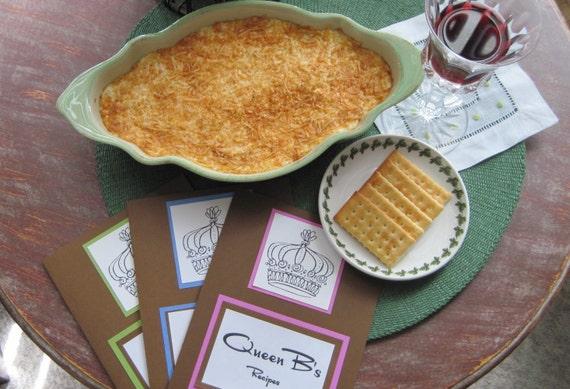 DIY Recipe for Artichoke Onion Souffle in Queen B's Recipe Folder