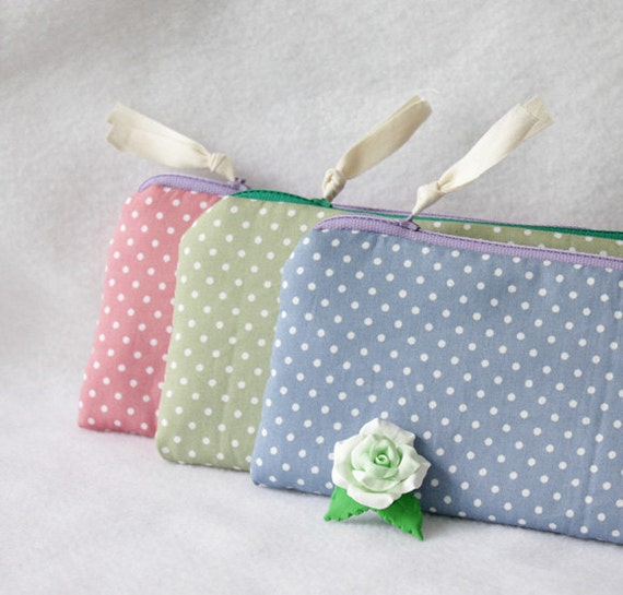 Diy sewing kit pencil case glasses case Zipper Pouch cosmetic
