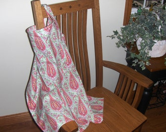 Nursing Cover:  Amy Butler Cypress Paisley, Blush