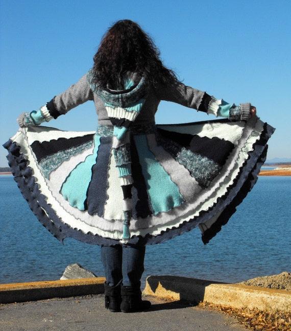 SALE Sweater Coat Kaleidoscope Dream Wear