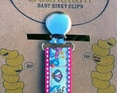 Mermaid Pacifier Clip or Toy Leash