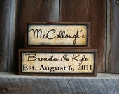 Personalized Family Sign- click for more color options