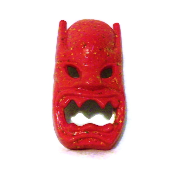 Ceramic Mask: Tiki Red Hanging Mask
