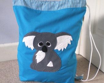 Koala bear drawstring / pe bag