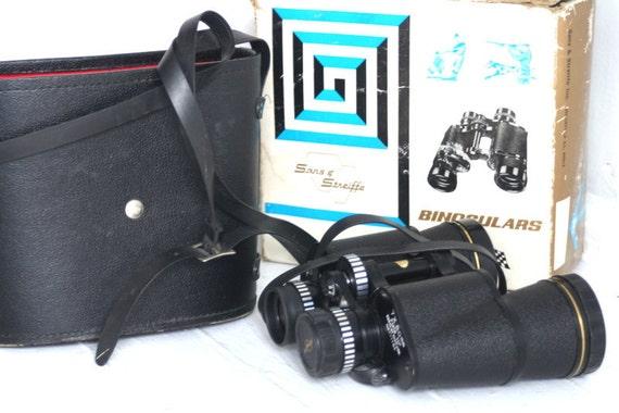 Vintage Sans & Streiffe Binoculars 7 x 50