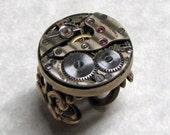 Steampunk Gear RIng Band ( SR1 ) reserved for 4dragonlove