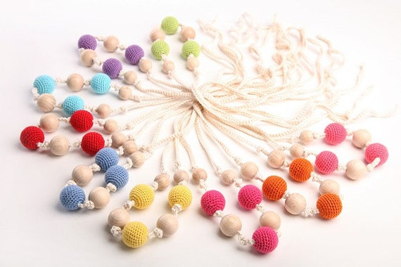 NORTHERN BERRIES .. Mommy Necklace.. Choose your color..