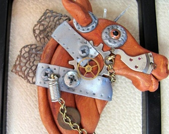 Sprocket , Steampunk Horse-- Time Trotter Collection