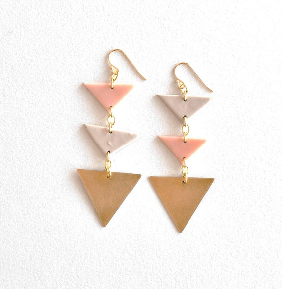 triple triangles(pink)