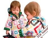 Raincoat for children Easy Peasy Photo Tutorial