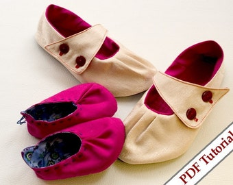 DIY shoe sewing pattern - mommy and me