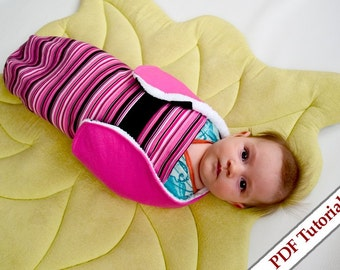 DIY Snuggler Infant Swaddler Sewing Pattern