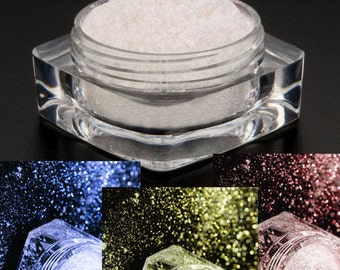 SAMPLES - Dramatic Mirage Faery Dust Powder-Choose 3 Colors-  3 PACK Sample Bags - eye shadow pigment mica body powder crafts Fairy Fairies