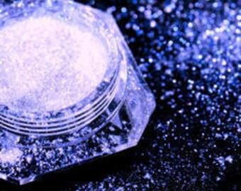 Dramatic Mirage Faery Dust Powder - Ocean Water - BLUE fairy dust for fairies body powder crafts eye shadow pigment mica - 3 gram jar