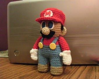 PATTERN Mario Doll Pattern - DOWNLOADABLE