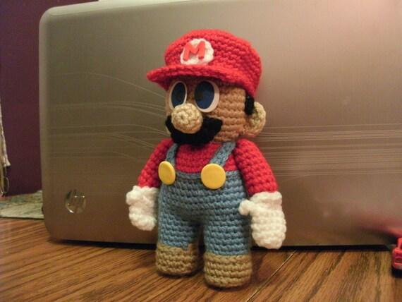 PATTERN Mario Doll Pattern - DOWNLOADABLE