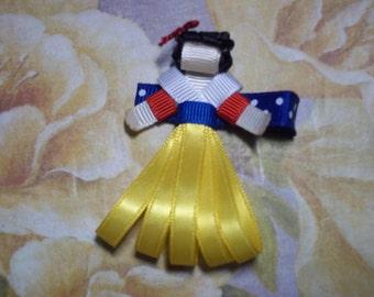 Snow White Hair Clip