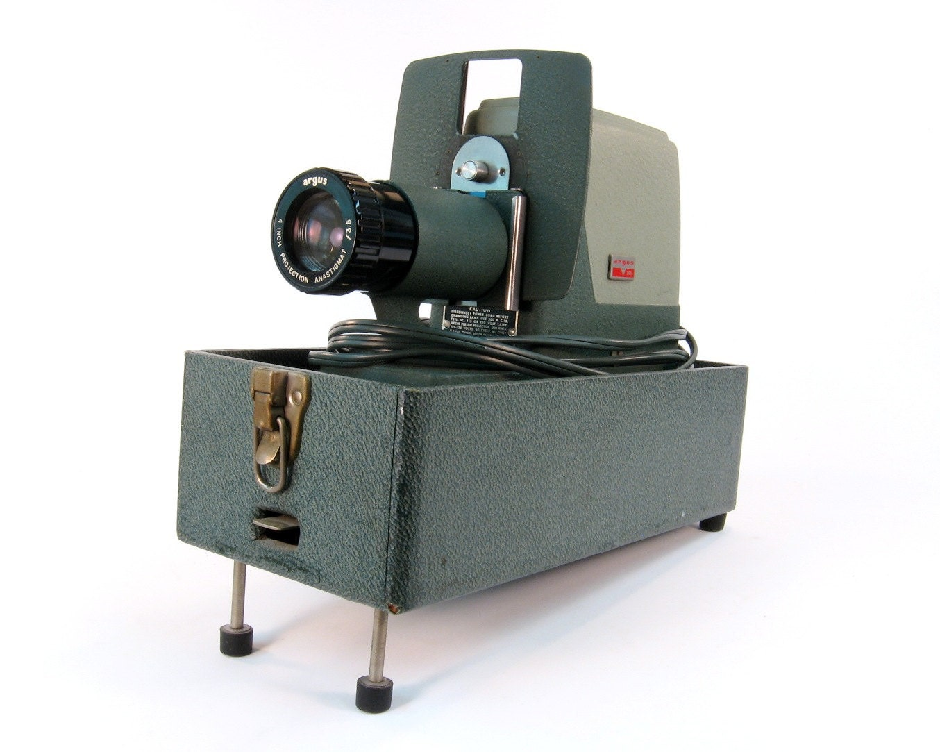 Starburst lamp etsy - Vintage Slide Projector Argus 300 1950s Vintage Green With