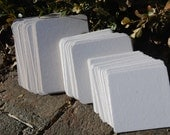 Coaster sampler pack (blank), 5 each of our 5 different sizes/shapes. eco friendly, pulp board