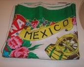 Vintage Mexican Scarf